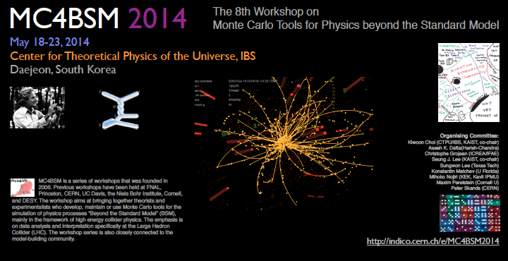 MC4BSM-2014: Mote Carlo Tools for Physics Beyond the Standard Model 사진